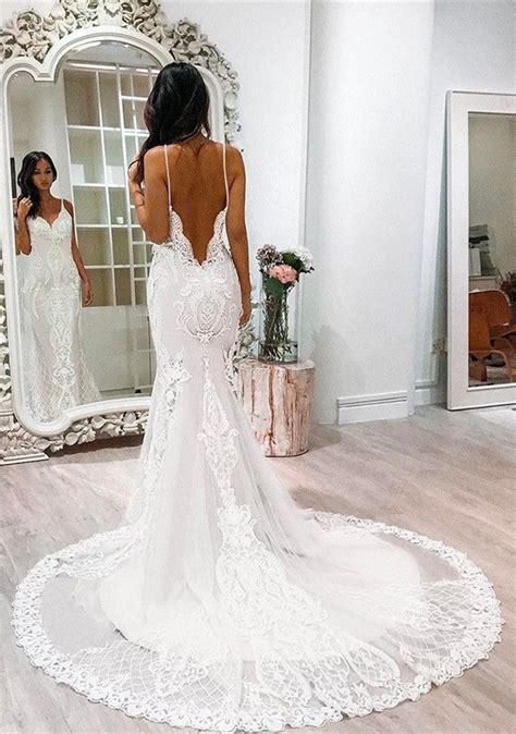 Vintage Unique Wedding Dresses by Best 25 Mermaid Wedding Dresses Ideas On