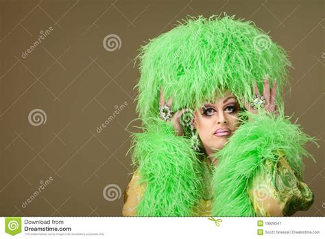 phil drag queen tattoo fixers serious drag queen royalty free stock photography image