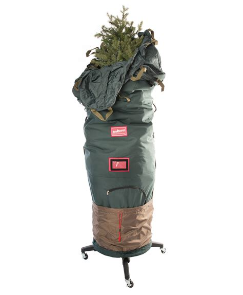 6 to 7 5 ft upright rolling christmas tree storage bag