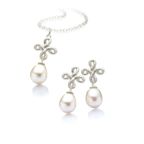 Hochzeit Set Perlen by Brautschmuck Perlen Set Bappa Info