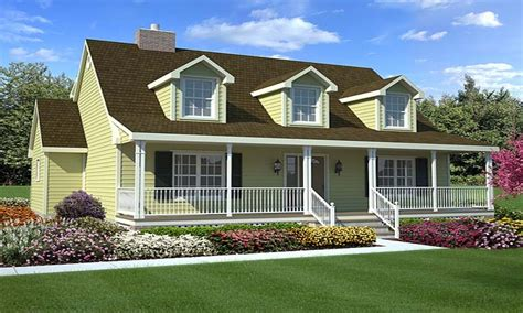 Classic Cape Cod House Plans by Cape Cod Style House With Porch Contemporary Style House
