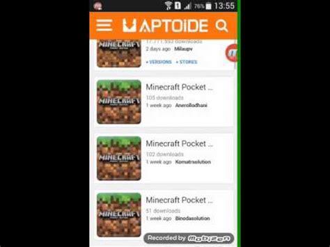 aptoide minecraft versi terbaru minecraft 0 15 0download aptoide mobile phone portal