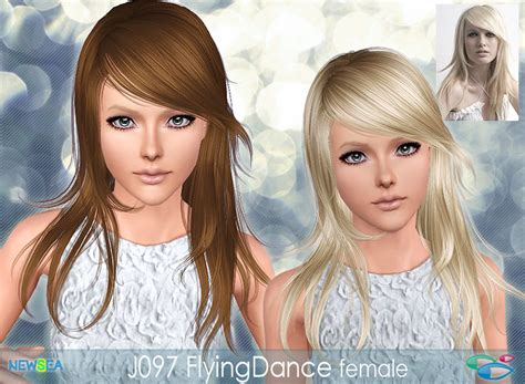 sims 3 custom content fringe hairstyle hairstyle donate newsea
