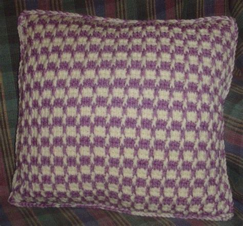 Tunisian Crochet Pillow by 17 Best Images About Virkkaustekniikat On Free