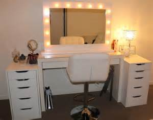 bathroom vanity mirror and light ideas bathroom white wooden dresser table with lighted mirror