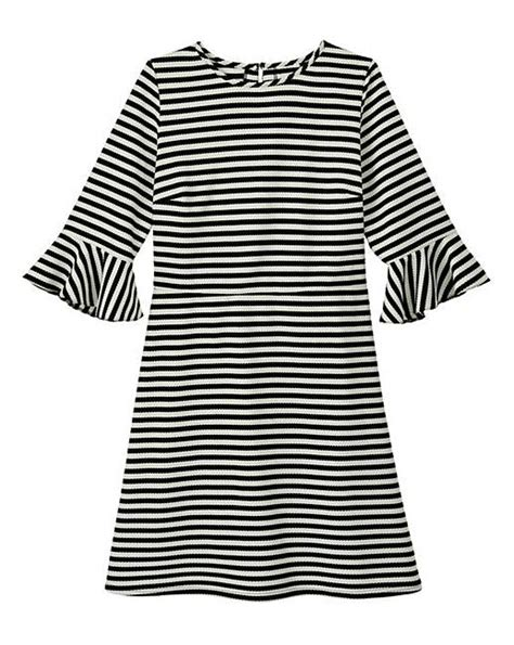 Dress Bell Slevee Stripe simply be stripe bell sleeve dress simply be