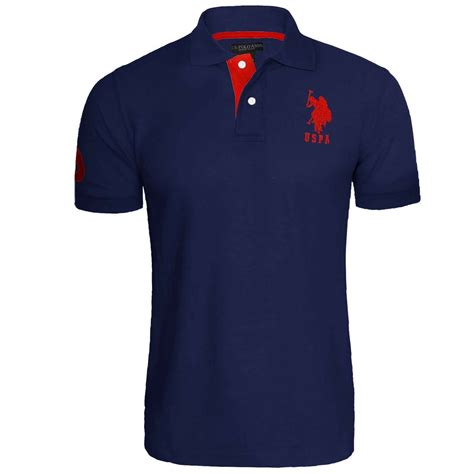 Taxtop Polos mens us polo assn pique t shirt original shirt branded top sleeve cotton ebay