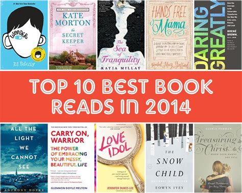 best to read top 10 best books of 2014 glowing local