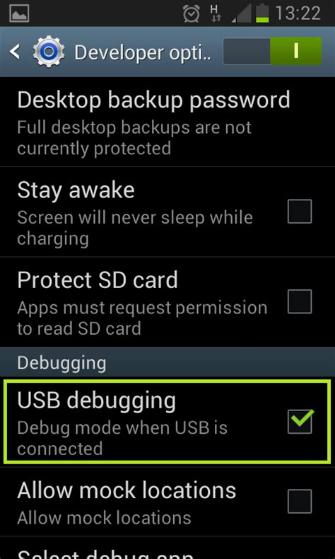 usb debugging app for android running android app in a real device but you don t need any to create an app