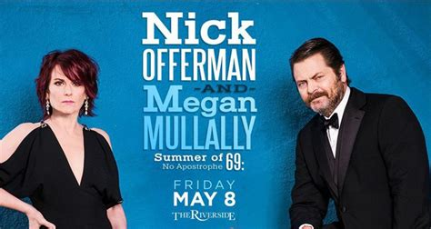 nick offerman record store nick offerman and megan mullally s quot summer of 69 no