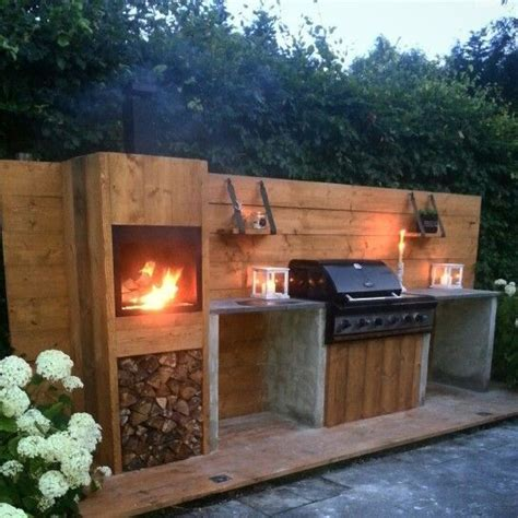 build outdoor kitchen build your own outdoor kitchen of scaffolding wood you