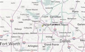 Dallas Airports Map by Dallas Fort Worth Airport Weather Station Record