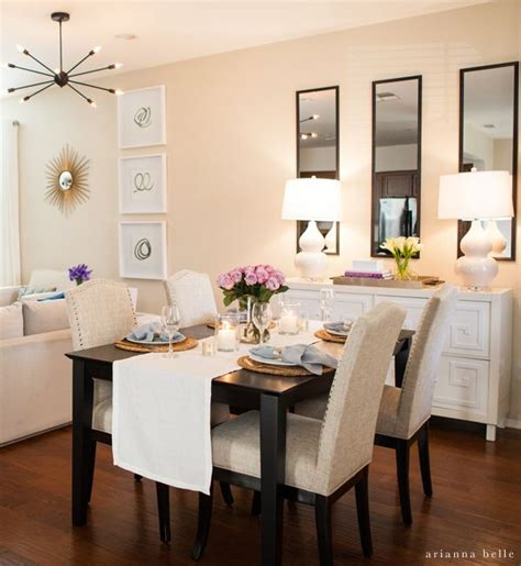 Dining Room Ideas For Apartments by Best 20 Apartment Dining Rooms Ideas On