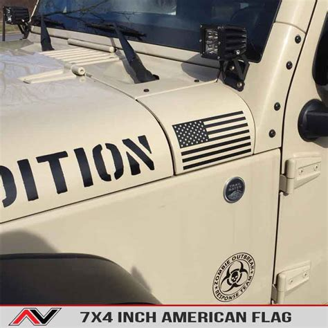 Flag Jeep Decal Images