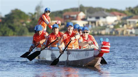 dragon boat illawarra seniors learn new skills illawarra mercury