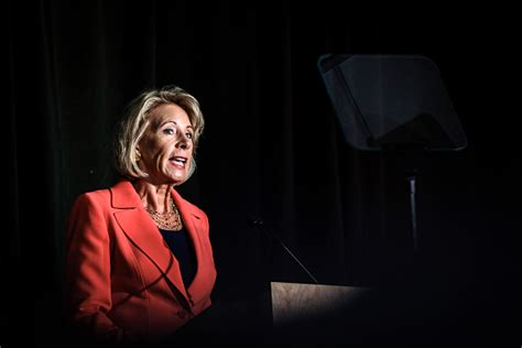 betsy devos government email address secretary betsy devos is doing something unprecedented for