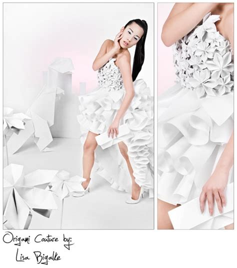 Origami Paper Dress - 23 and creative origami artworks smashingapps