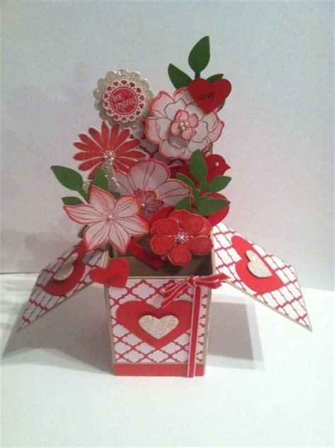 valentines day card boxes s day card in a box stin up