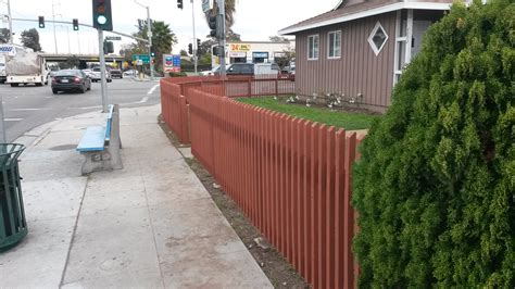 wood fence front yard woodfenceexpert woodfenceexpert