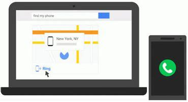 how to use google search to find your lost android phone