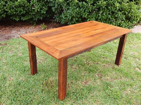 Dining Table Made From Reclaimed Wood Custom Reclaimed Poplar Dining Table W Matching Bench By Fama Creations Llc Custommade