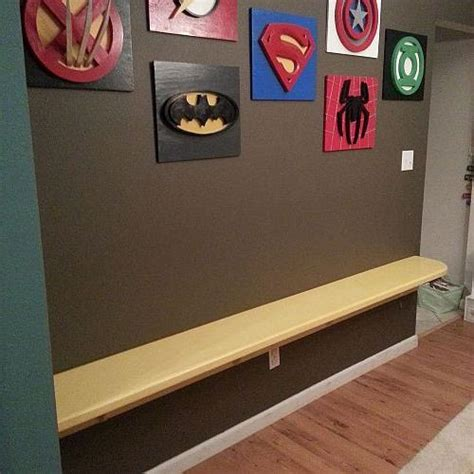 superhero home decor my son loves superheroes decorating the playroom hometalk