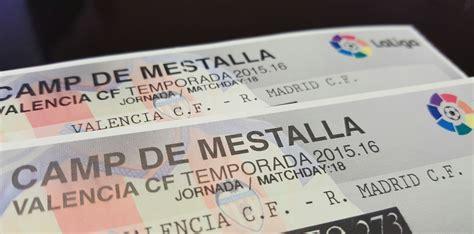 entradas valencia real madrid 2015 sandra romero ganadora del sorteo en twitter de dos
