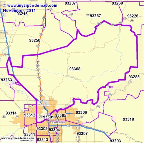 zip code map bakersfield ca zip code map of 93308 demographic profile residential