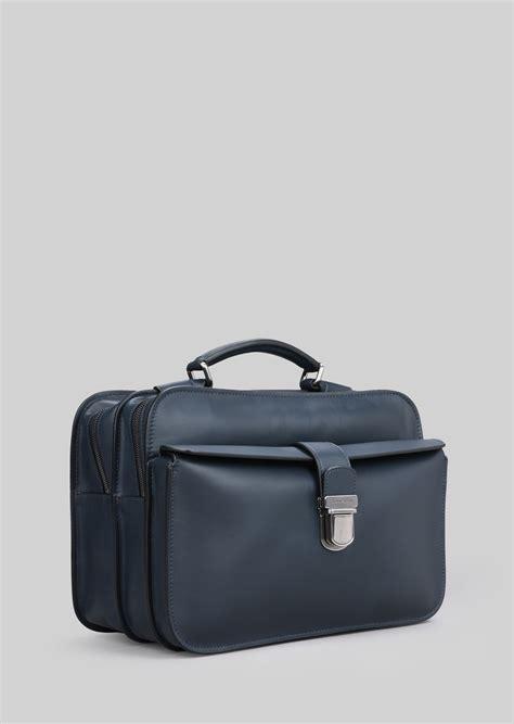 sacoche bureau sacoche de bureau en cuir avec anse homme giorgio armani