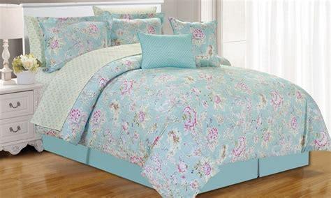 King Comforter Sets Groupon by Printed 10 Bedding Set King Size Groupon