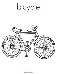 bicycle coloring page bicycle coloring page twisty noodle