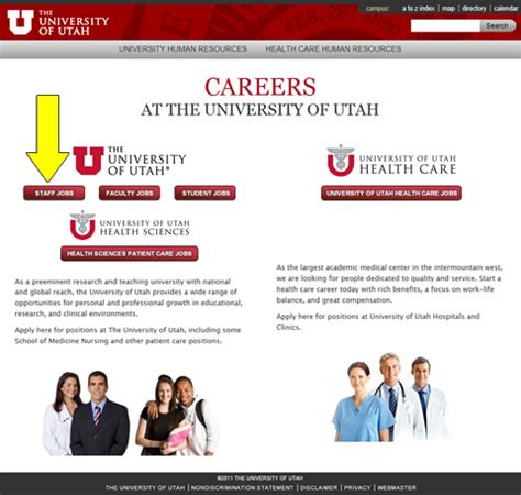 application process staff the of utah