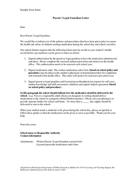 authorization letter for guardianship sle temporary guardianship letter sle bagnas sle