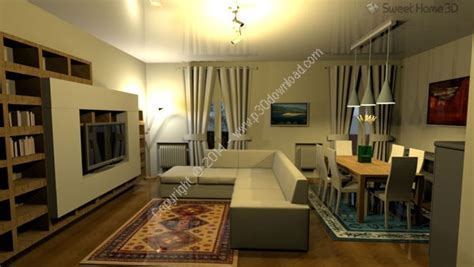 v5 3 sweet home 3d best free interior design دانلود sweet home 3d v5 7 نرم افزار طراحی دکوراسیون 3 بعدی
