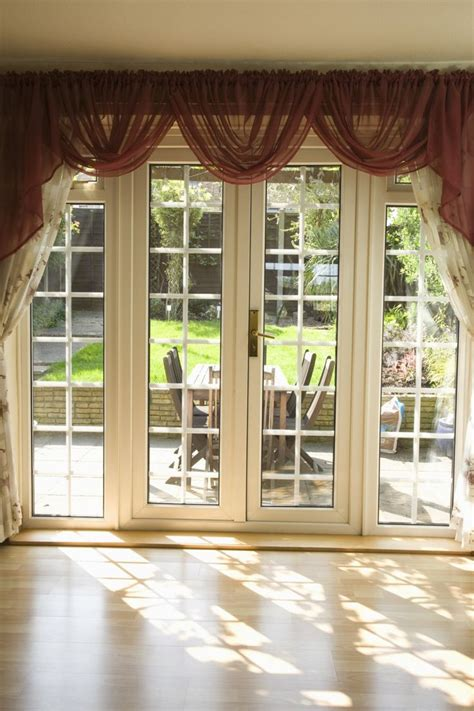 valances for bedroom windows beautiful white glass modern design french windows style