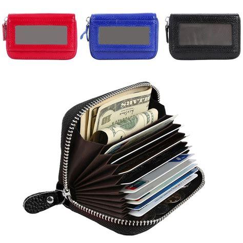 Cctv Walet rfid blocking credit card holder genuine leather security wallet purse storage ebay