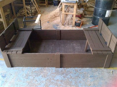 pallet pit diy pallet fold up sand pit pallet ideas recycled upcycled pallets furniture projects
