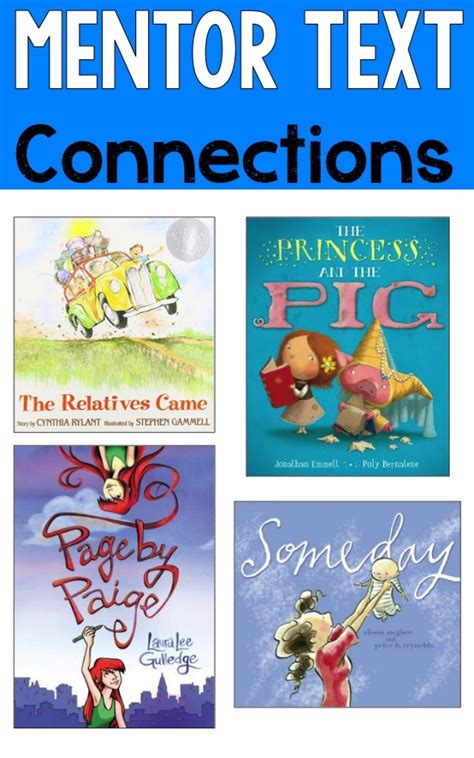 picture books for connections reading mentor texts ashleigh s education journey