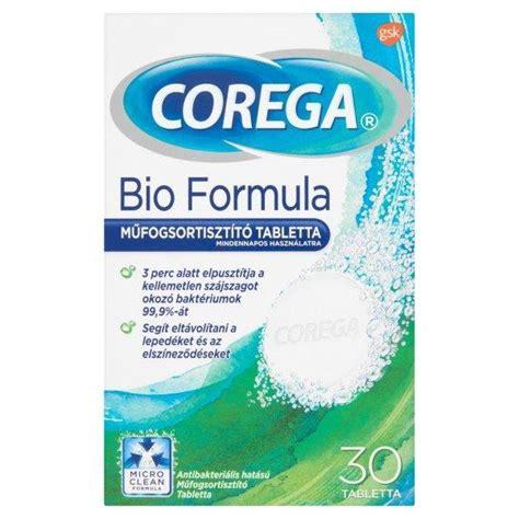 biography formula corega bio formula műfogsortiszt 237 t 243 tabletta 30x