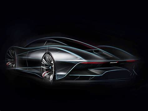 mclaren f1 drawing mclaren unveils concept drawing of hypercar