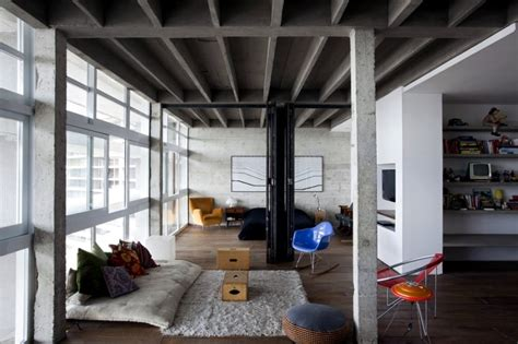 concrete loft loft raw concrete interior design ideas ofdesign