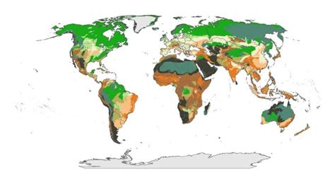 how the world map has changed scientists produce new world map identifying areas most