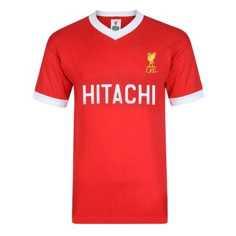 Jersey Retro Liverpool 93 liverpool 1978 hitachi shirt liverpool retro jersey score draw