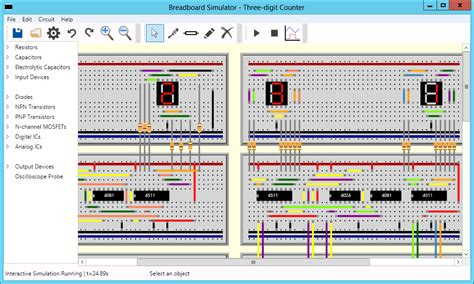 breadboard circuit simulation breadboard circuit simulation 28 images live 3d breadboard tool in tina build a like 3d