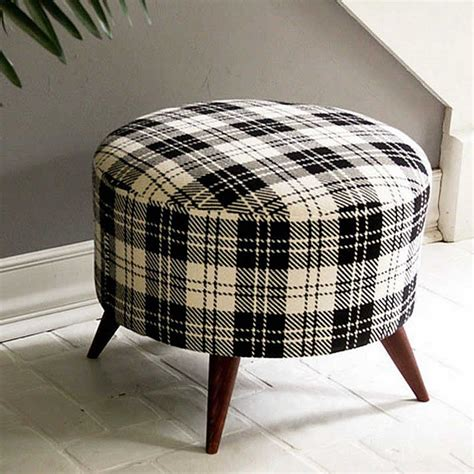 round ottoman diy diy salvaged wooden spool ottoman by shelly leer