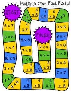 multiplication and division printable board games 1000 images about homeschool elementary school on