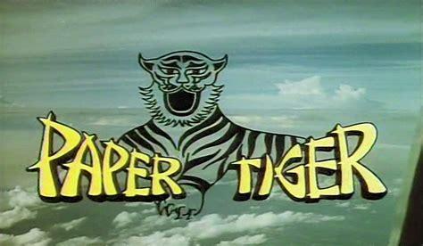 Paper Tiger paper tiger 1975