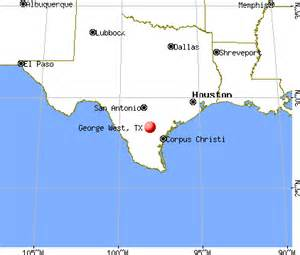 george west map george west tx 78022 profile population maps