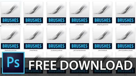 download kumpulan brush photoshop btgrafis bunch collection of photoshop brushes free download youtube