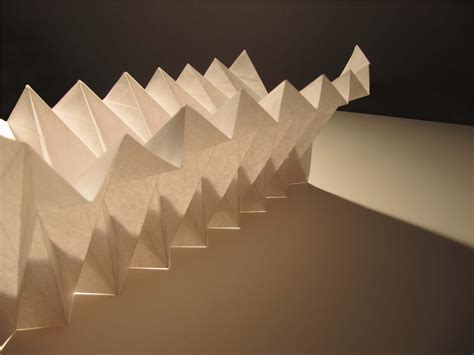 Folded Paper L - origami fold 05 by catiniata on deviantart